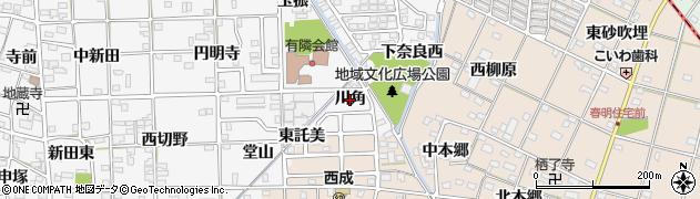 愛知県一宮市時之島(川角)周辺の地図
