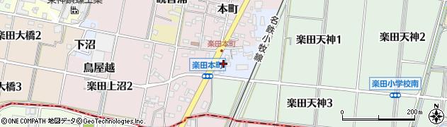 愛知県犬山市天神周辺の地図