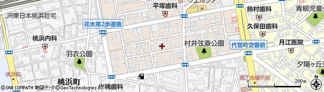 神奈川県平塚市八重咲町周辺の地図
