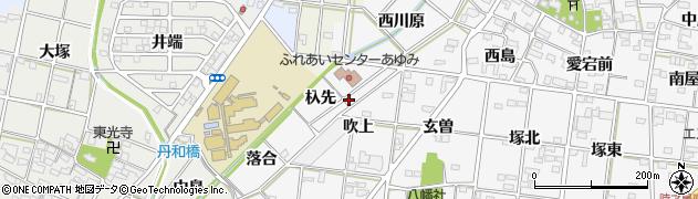 愛知県一宮市時之島(杁先)周辺の地図
