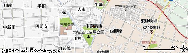 愛知県一宮市時之島(下奈良西)周辺の地図