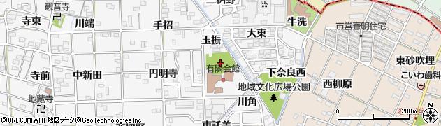 愛知県一宮市時之島(杁原)周辺の地図