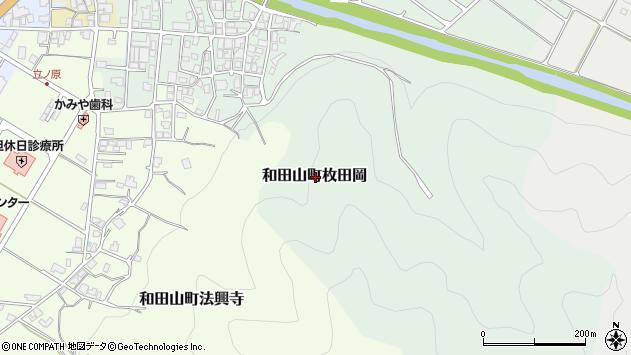 〒669-5215 兵庫県朝来市和田山町枚田岡の地図
