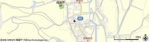 京都府福知山市報恩寺(井ノ奥)周辺の地図