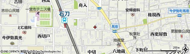 愛知県一宮市今伊勢町馬寄(舟入)周辺の地図