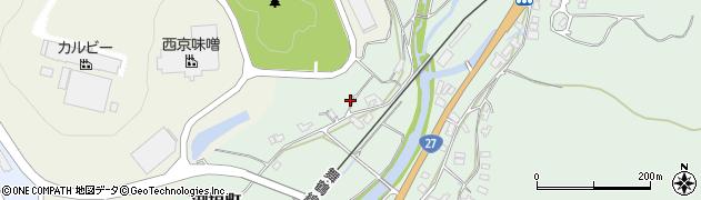 京都府綾部市渕垣町(渕垣)周辺の地図