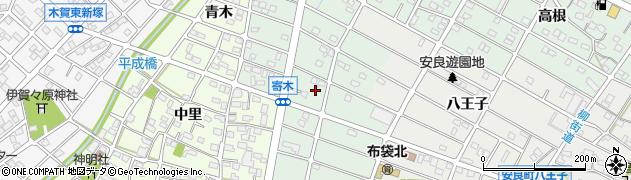 愛知県江南市寄木町(天道)周辺の地図