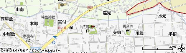 愛知県一宮市時之島(宮ノ腰)周辺の地図