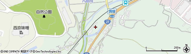 京都府綾部市渕垣町(樋ノ口)周辺の地図