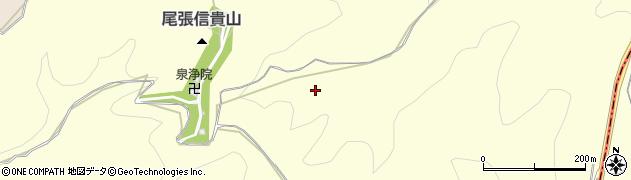 愛知県犬山市倉曽洞周辺の地図