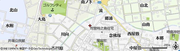 愛知県一宮市時之島(池付)周辺の地図