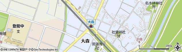 大森周辺の地図