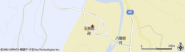 京都府綾部市武吉町(西)周辺の地図