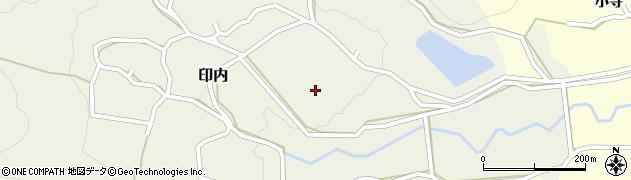 京都府福知山市印内(真道)周辺の地図