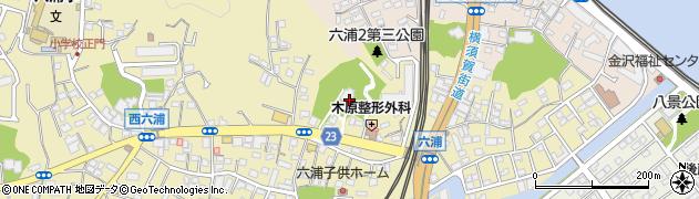 上行寺周辺の地図