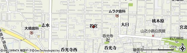 愛知県一宮市今伊勢町馬寄(若宮)周辺の地図