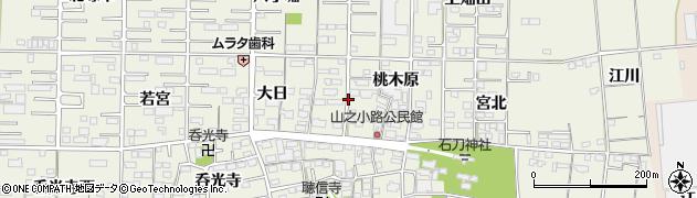 愛知県一宮市今伊勢町馬寄(郷浦)周辺の地図