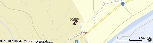 如是寺周辺の地図