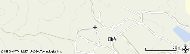 京都府福知山市印内(金ケ)周辺の地図