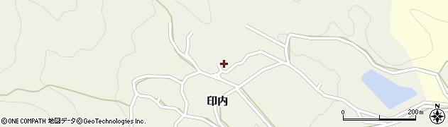 京都府福知山市印内周辺の地図