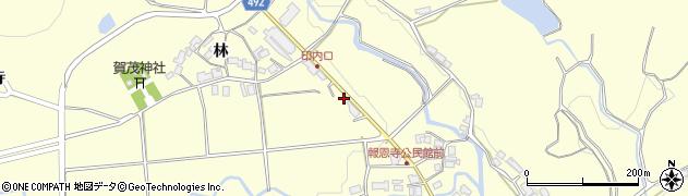 京都府福知山市報恩寺(今福)周辺の地図