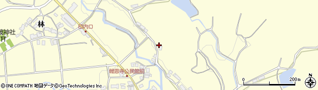 京都府福知山市報恩寺(和田)周辺の地図