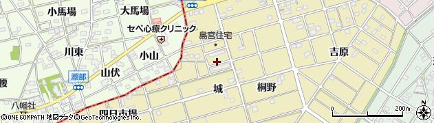 島宮住宅周辺の地図