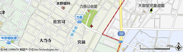 道周辺の地図