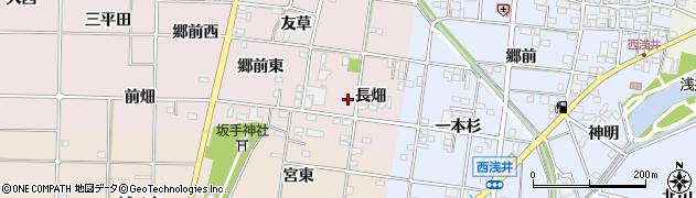 愛知県一宮市富塚(長畑)周辺の地図