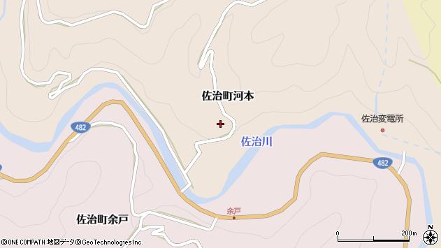 〒689-1321 鳥取県鳥取市佐治町河本の地図