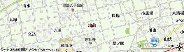 愛知県一宮市瀬部(地蔵)周辺の地図