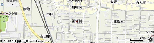 愛知県一宮市今伊勢町馬寄(福塚前)周辺の地図