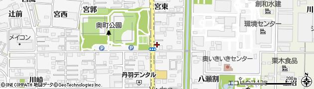 ほっともっと 一宮奥町店周辺の地図