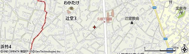 神奈川県藤沢市辻堂周辺の地図