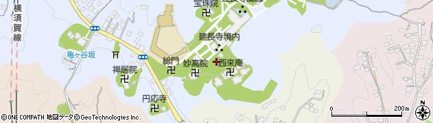 同契院周辺の地図