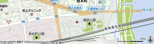 神奈川県平塚市馬入本町周辺の地図