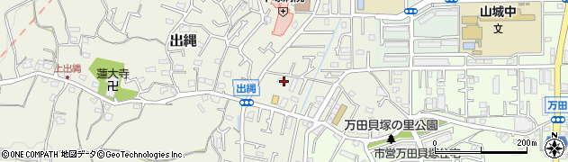 神奈川県平塚市出縄周辺の地図