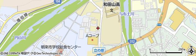 兵庫県朝来市和田山町立ノ原周辺の地図