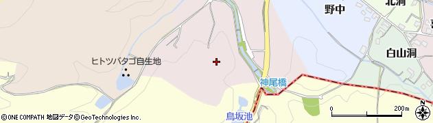 愛知県犬山市向田周辺の地図