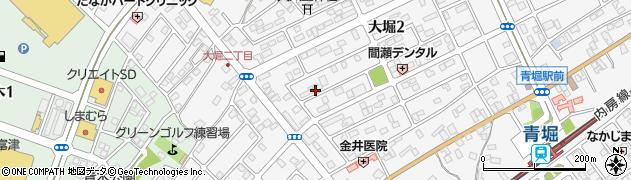 東京電力寮周辺の地図