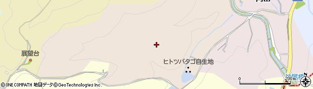 愛知県犬山市西洞周辺の地図
