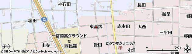 愛知県一宮市富塚(東長筬)周辺の地図