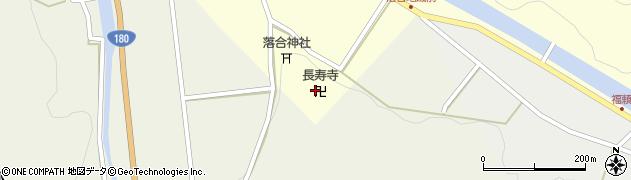 長寿寺周辺の地図