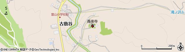 長楽寺周辺の地図
