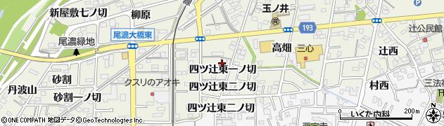 愛知県一宮市木曽川町玉ノ井(四ツ辻東一ノ切)周辺の地図