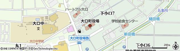 愛知県大口町(丹羽郡)周辺の地図