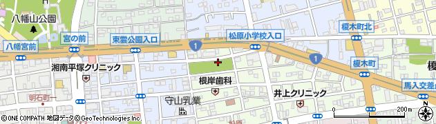 神奈川県平塚市八千代町周辺の地図