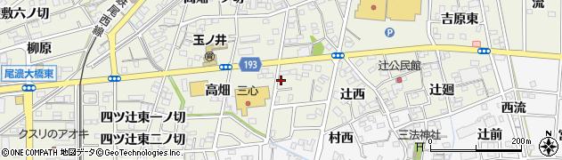 愛知県一宮市木曽川町玉ノ井(稲荷前)周辺の地図