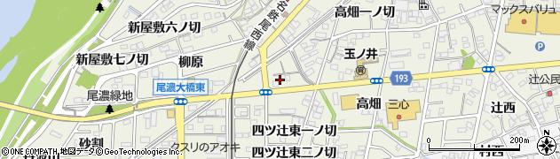 愛知県一宮市木曽川町玉ノ井(蒲池)周辺の地図