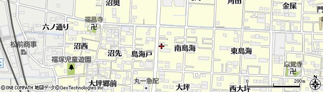 愛知県一宮市木曽川町門間(島海中)周辺の地図